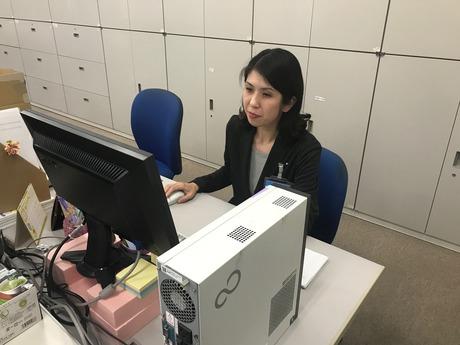 人気事務職!落ち着いた雰囲気の職場なので働き易さ仕事もプライベートも両立しやすい環境